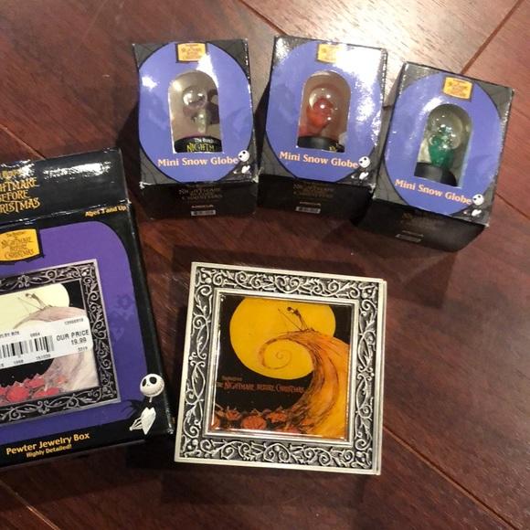 Nightmare Before Christmas trinket box